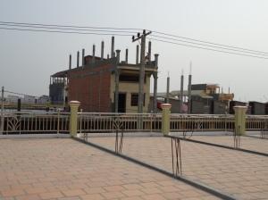 New construction in Phnom Penh